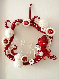 OBSESSED with this Octo-wreath!
