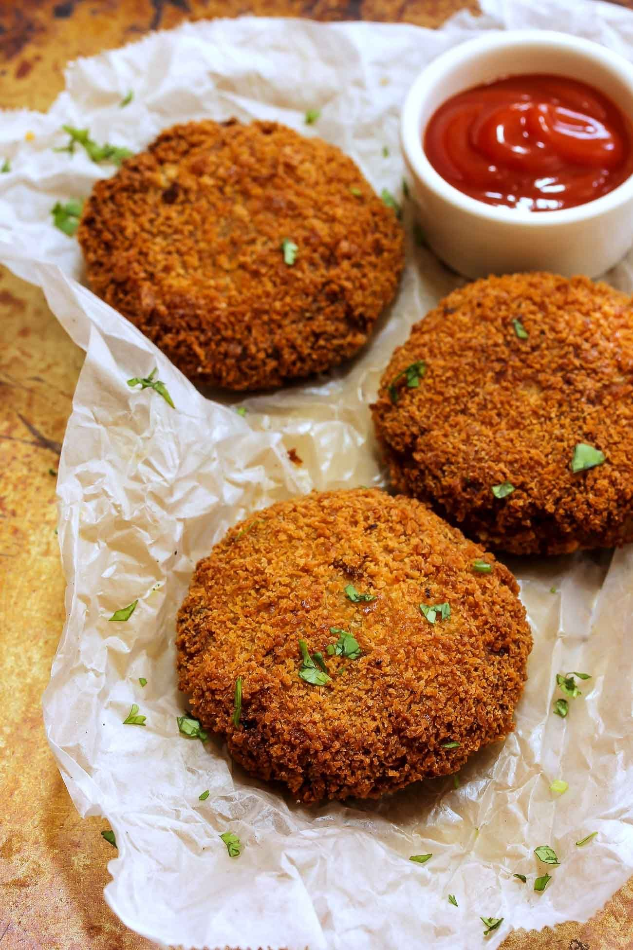 Oats and Rajma Cutlet | Recipe | Tea time snacks, Snack ...