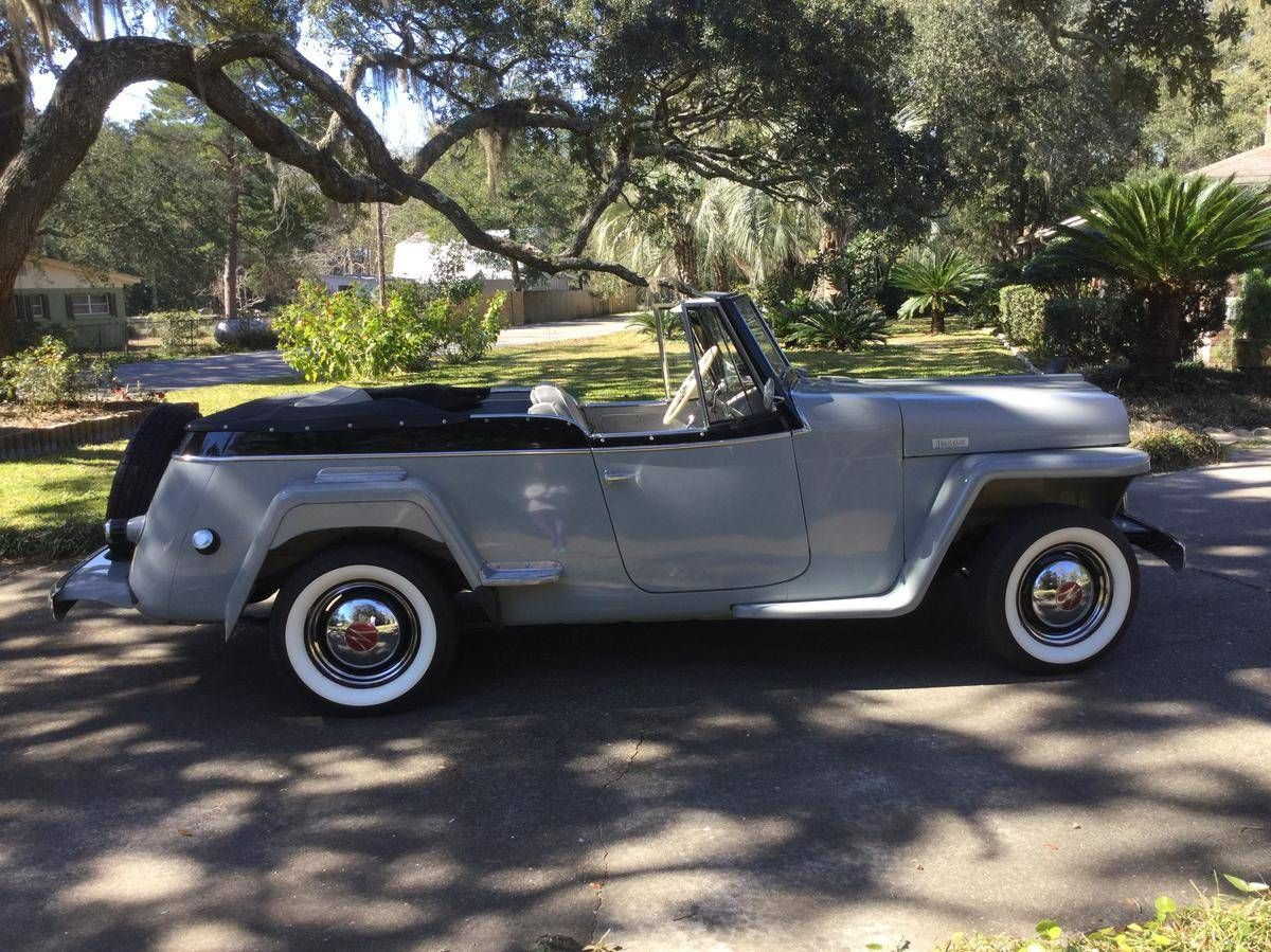 1949 Willys Jeepster Convertible For Sale 1834349 Hemmings