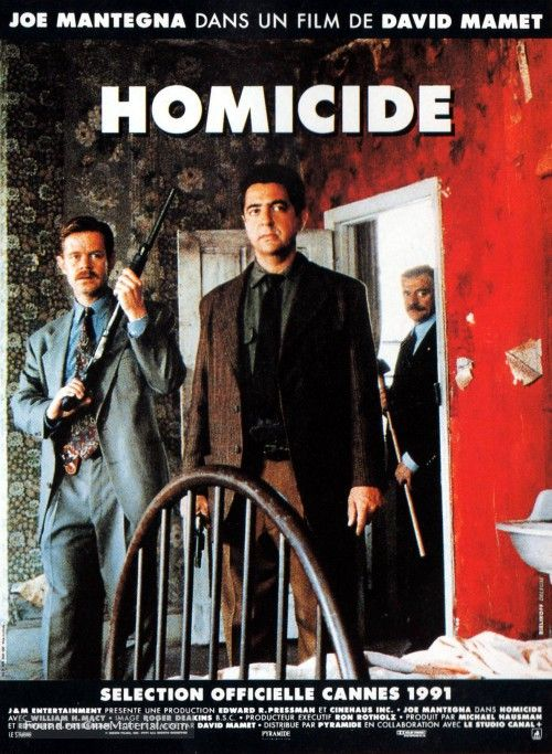 Homicide French movie poster