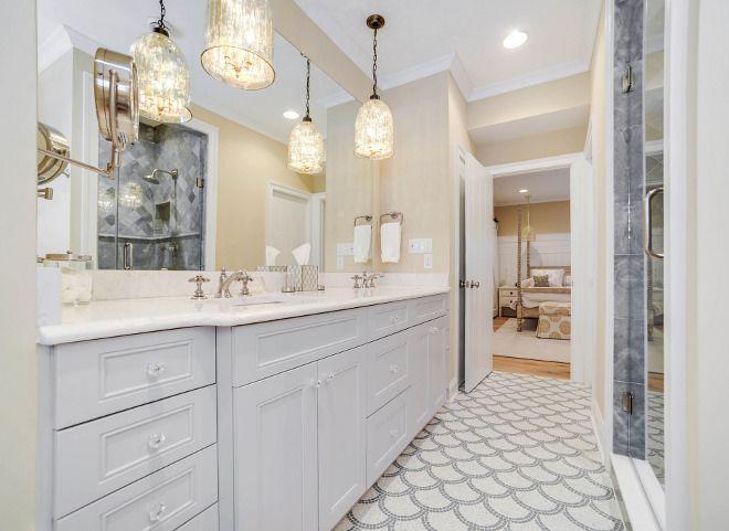 Bathroom Pendant Light Bathroom Pendant Lighting Bathroom Pendant Lights The Mercury Glass Pendants Are Coastal Interiors Grey Cabinets Beautiful Bathrooms