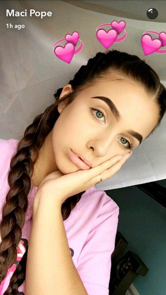 @baabyemmiillyy | maci pope | Beauty makeup, Snapchat ...