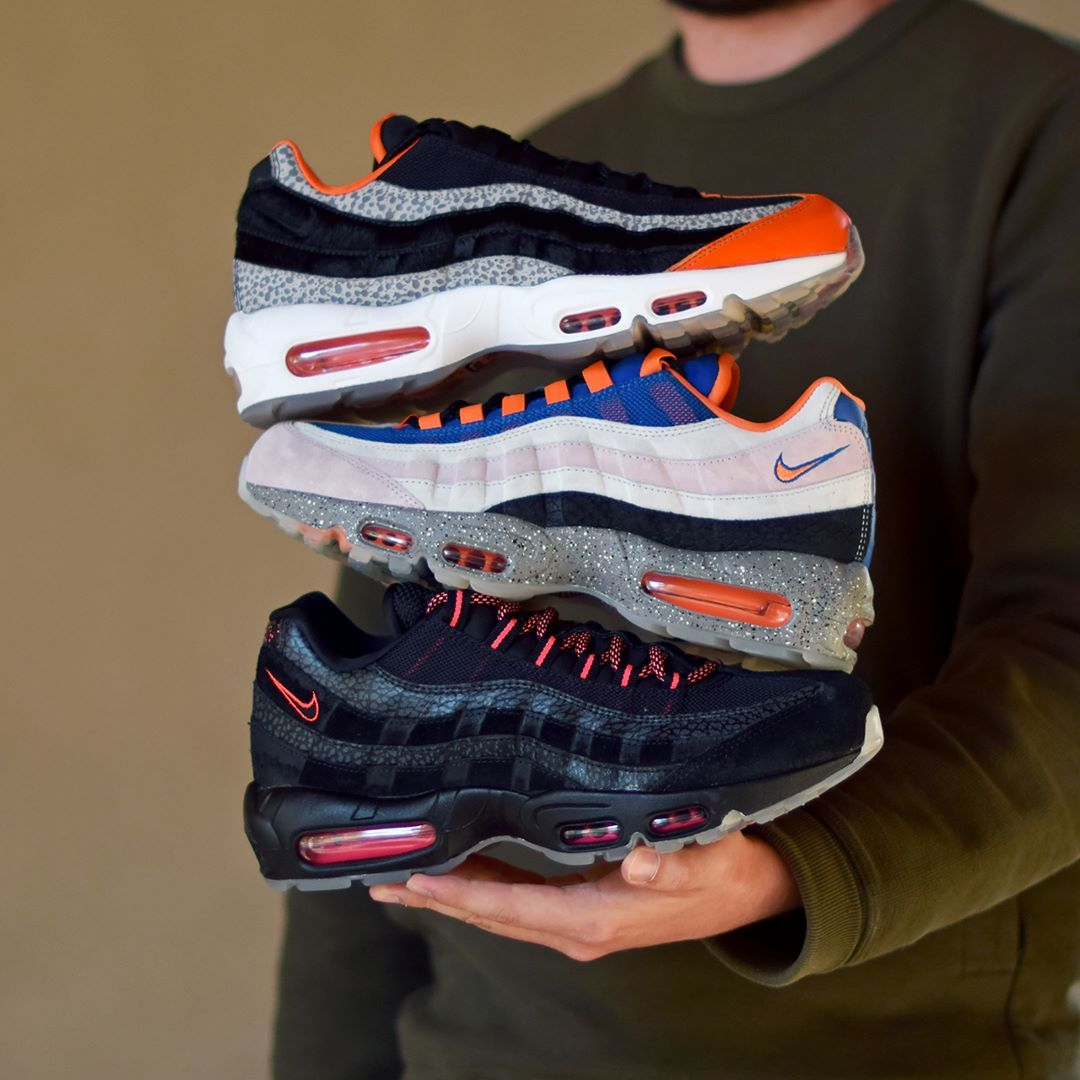Lectura cuidadosa Húmedo Autocomplacencia  Nike Air Max 95 Greatest Hits Pack . Available: SNKRS.COM ...