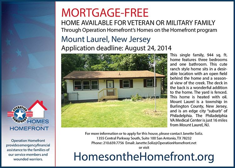 This Tidy Home Situated Near The Water In Mt Laurel Nj Is One Example Of Several Mortgage Free Homes Open For Application T Mortgage Free Mortgage Open House