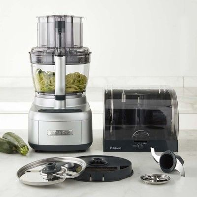 cuisinart elemental 13 cup food processor with spiralizer dicer