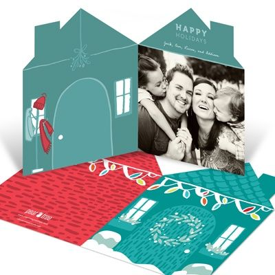 Home For The Holidays Photo Christmas Cards