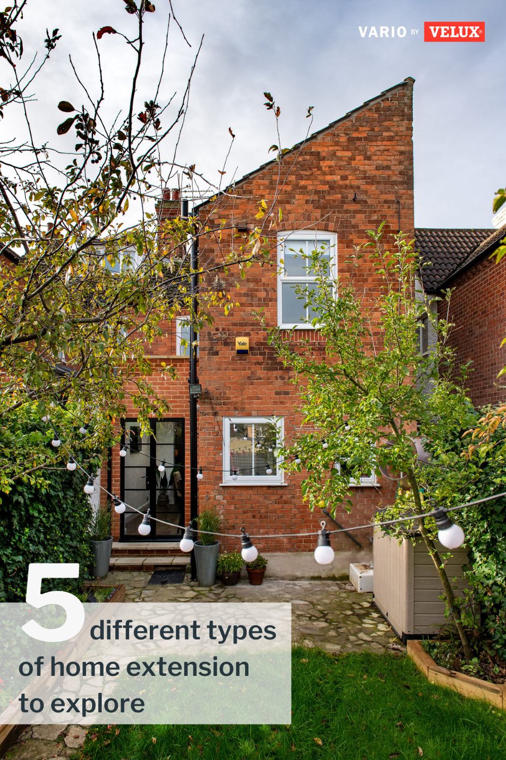 You need more space, but you don't want to move. Enter the house extension, modern Britain's answer to all your cramped home woes. But not all home extensions are created equal. Did you know that there are 5 different main styles of extension to choose from? #extension #houseextension #homeimprovements #extensionideas #renovation #reno #variobyvelux #velux