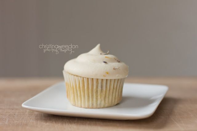 Dandelions on the Wall: Gluten Free, Lavender Cupcakes with Meyer Lemon Bu...