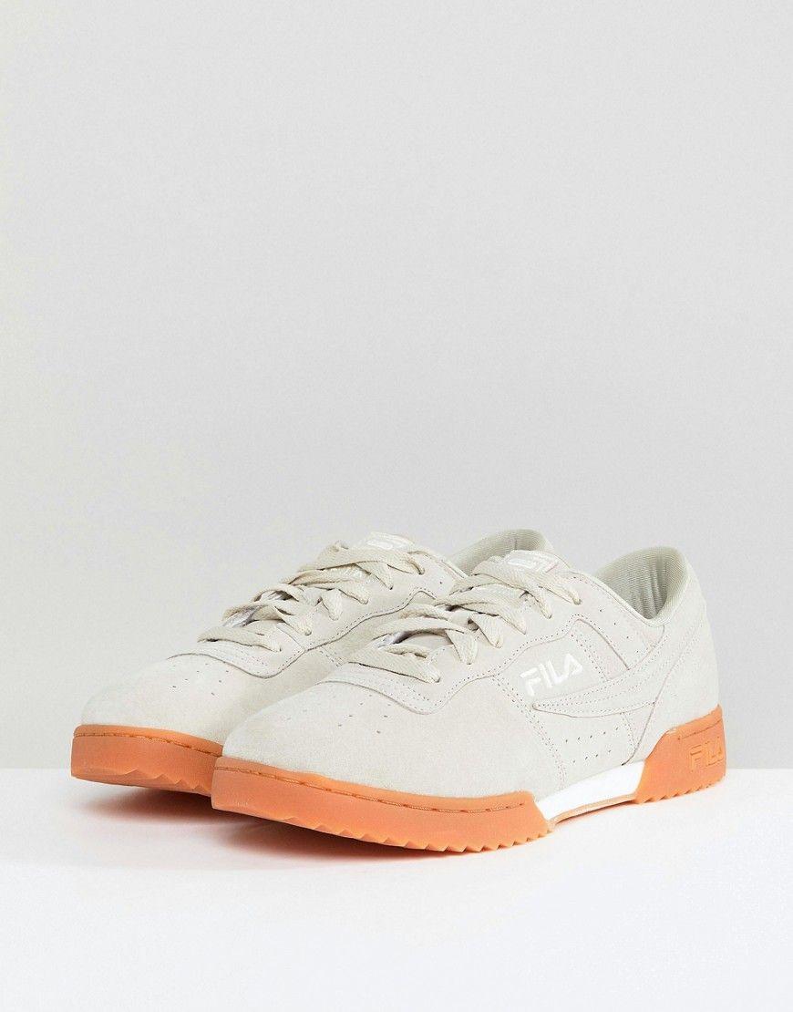 Fila Original Suede Fitness Ripple Sneaker In lAVCh