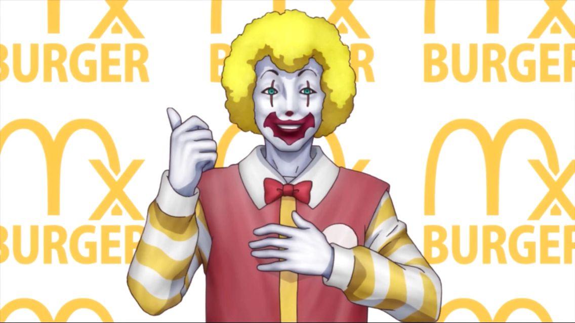 Ronald mcdonald hahahaha