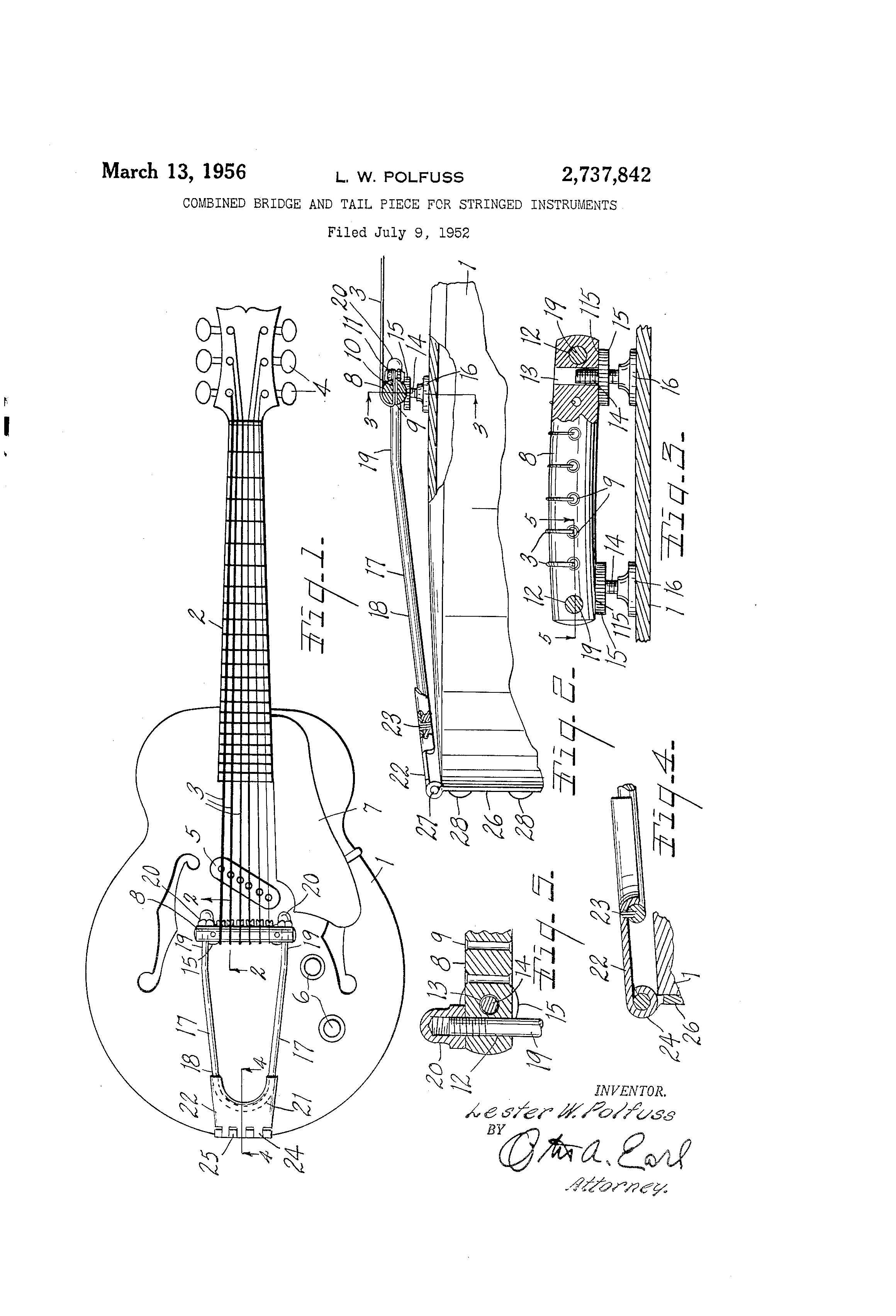 patent us2737842