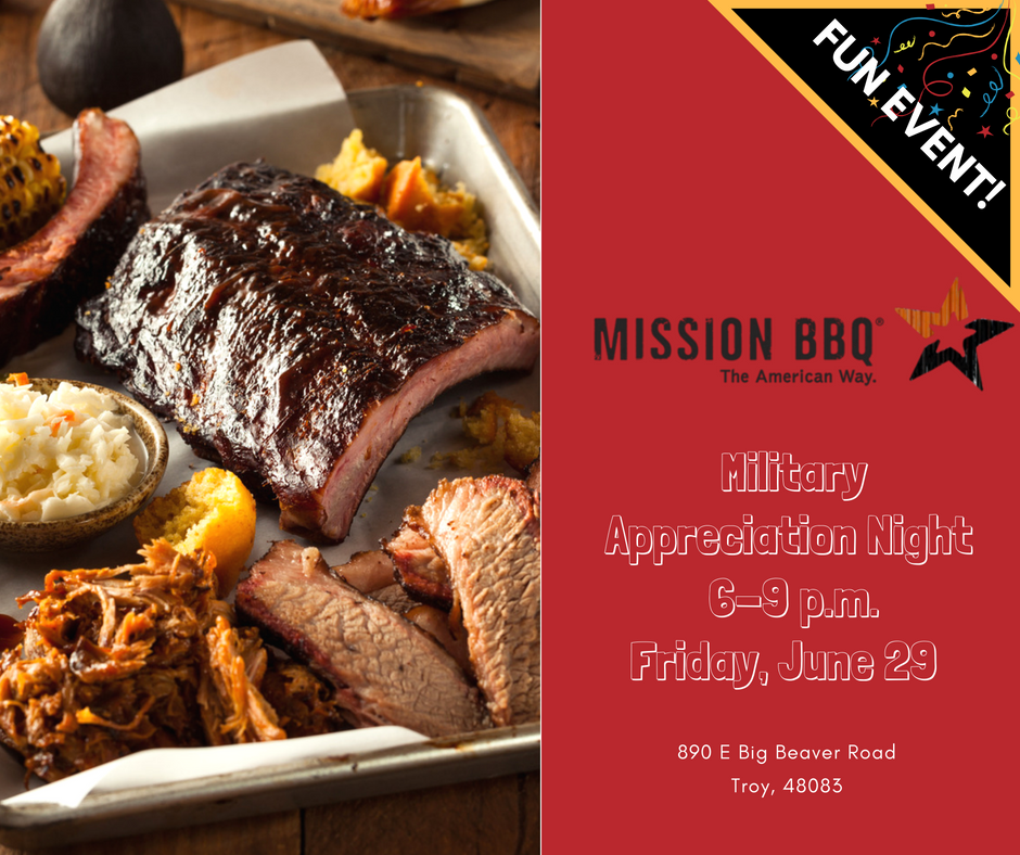 Mission Bbq Is About To Open Their Troy Location They Are Hosting Charity Nights Throughout The Week Leading Up To The Food Plus All American Food Mission Bbq