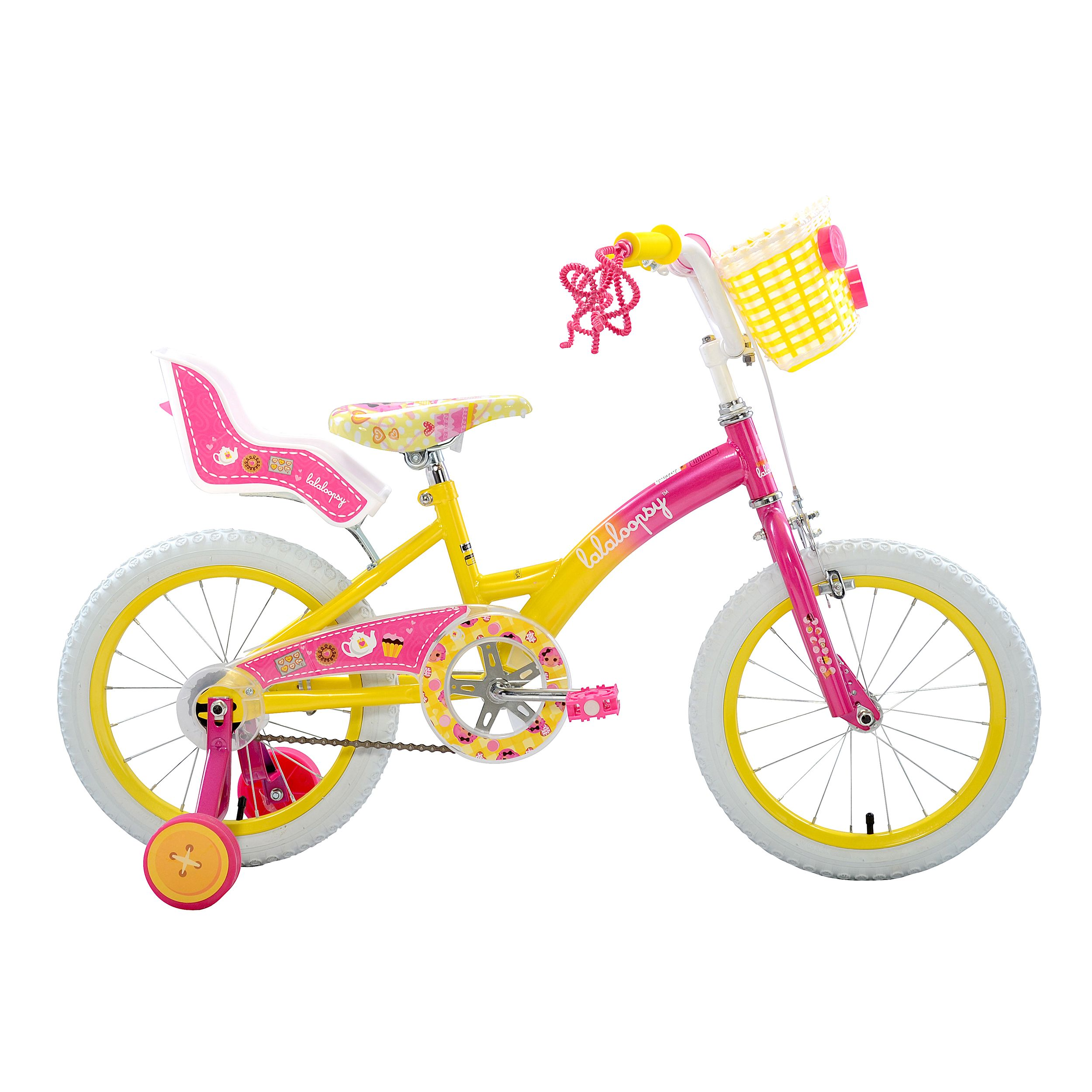 Lalaloopsy 16 Inch Girls Bike Pink Girls 16 Inch Bike Bikes