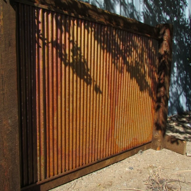 Corrugated Large Metal Wall Panels 26 In 2020 Metal Wall Panel Outdoor Wall Panels Corrugated Metal Fence