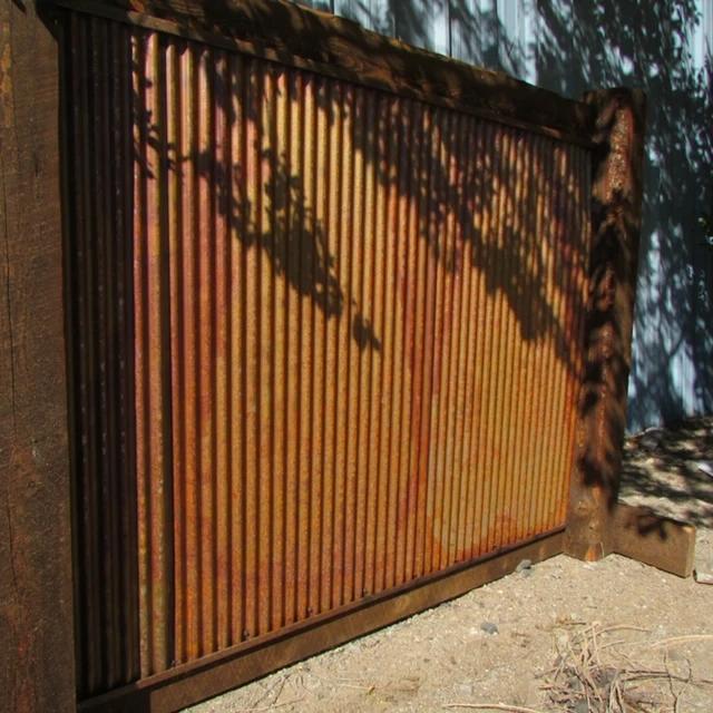 Corrugated Large Metal Wall Panels 26 In 2020 Metal Wall Panel Outdoor Wall Panels Corrugated Metal Fence