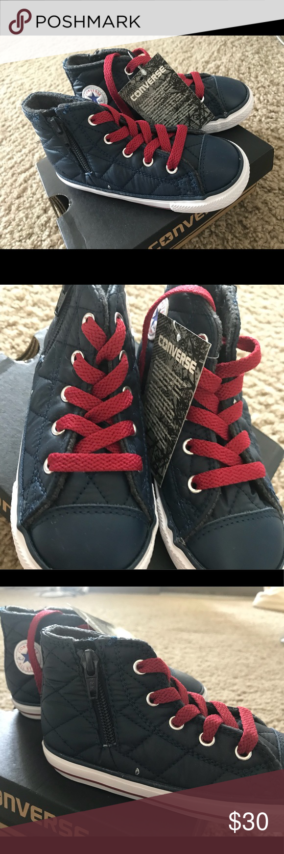 406cce32cb7cdc New kids converse shoes. Size 9. Zip up shoe. Funky style