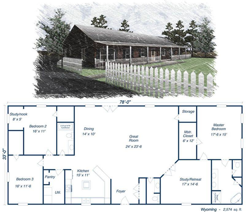 Budget Home Kit Barn House Plans House Plans Metal Barn Homes
