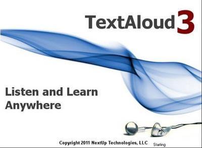 TextAloud v3 es el programa que lee los textos, correos electrónicos, páginas web y documentos que desee escuchar, Reproduce con Voz de Calidad