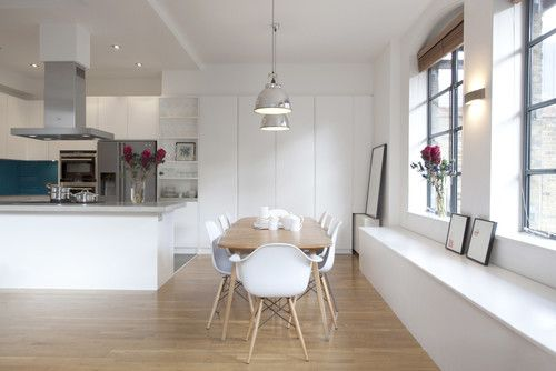 contemporary kitchen replica eames bucket chairs chairs
