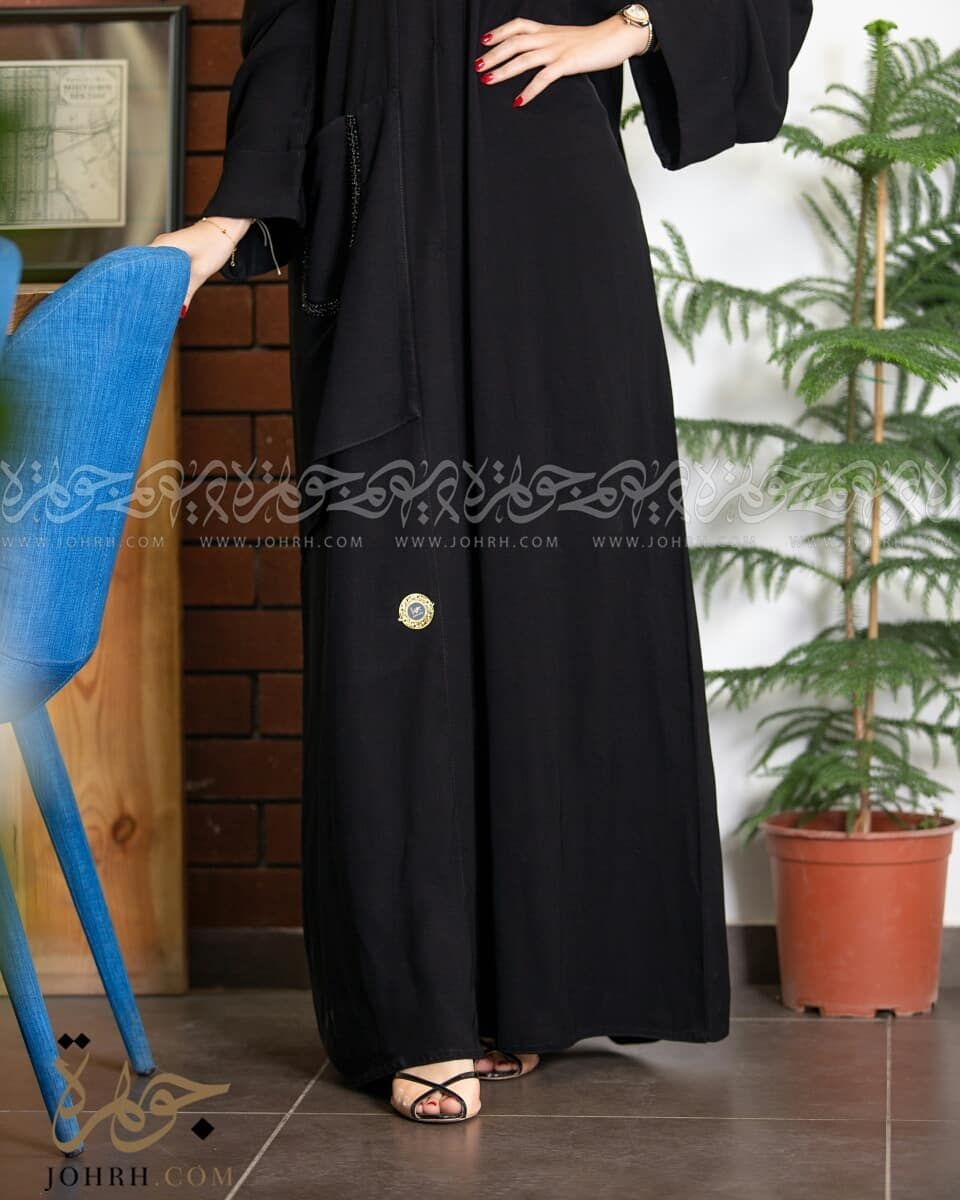 عباية ملكي بشك وجيوب رقم الموديل 1565 السعر بعد الخصم 260ريال متجر جوهرة عباية عبايات ستايل عباية Maxi Dress Fashion Dresses