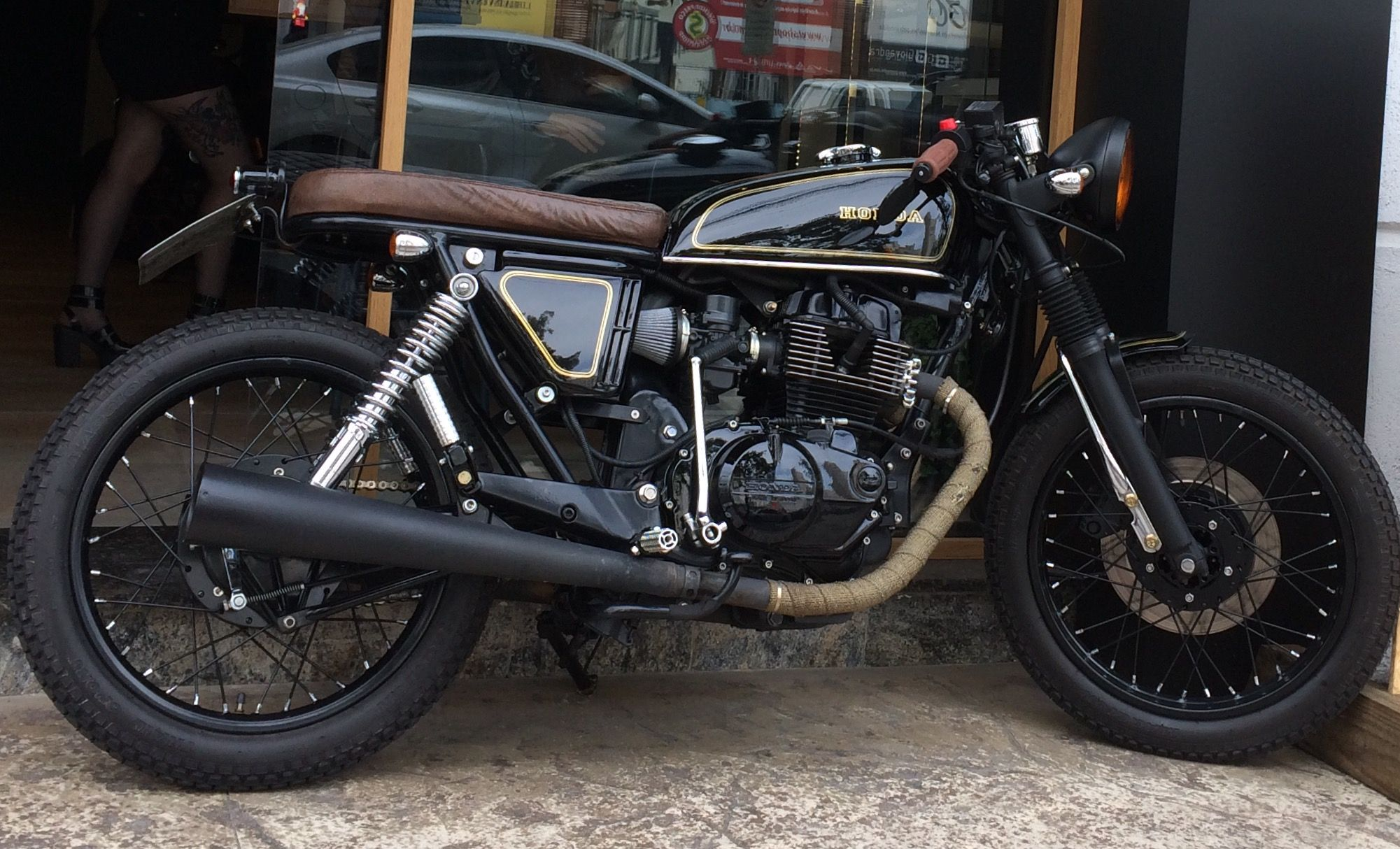 Cb 400 II inspirado nas motos clássicas européias  33c3778f27