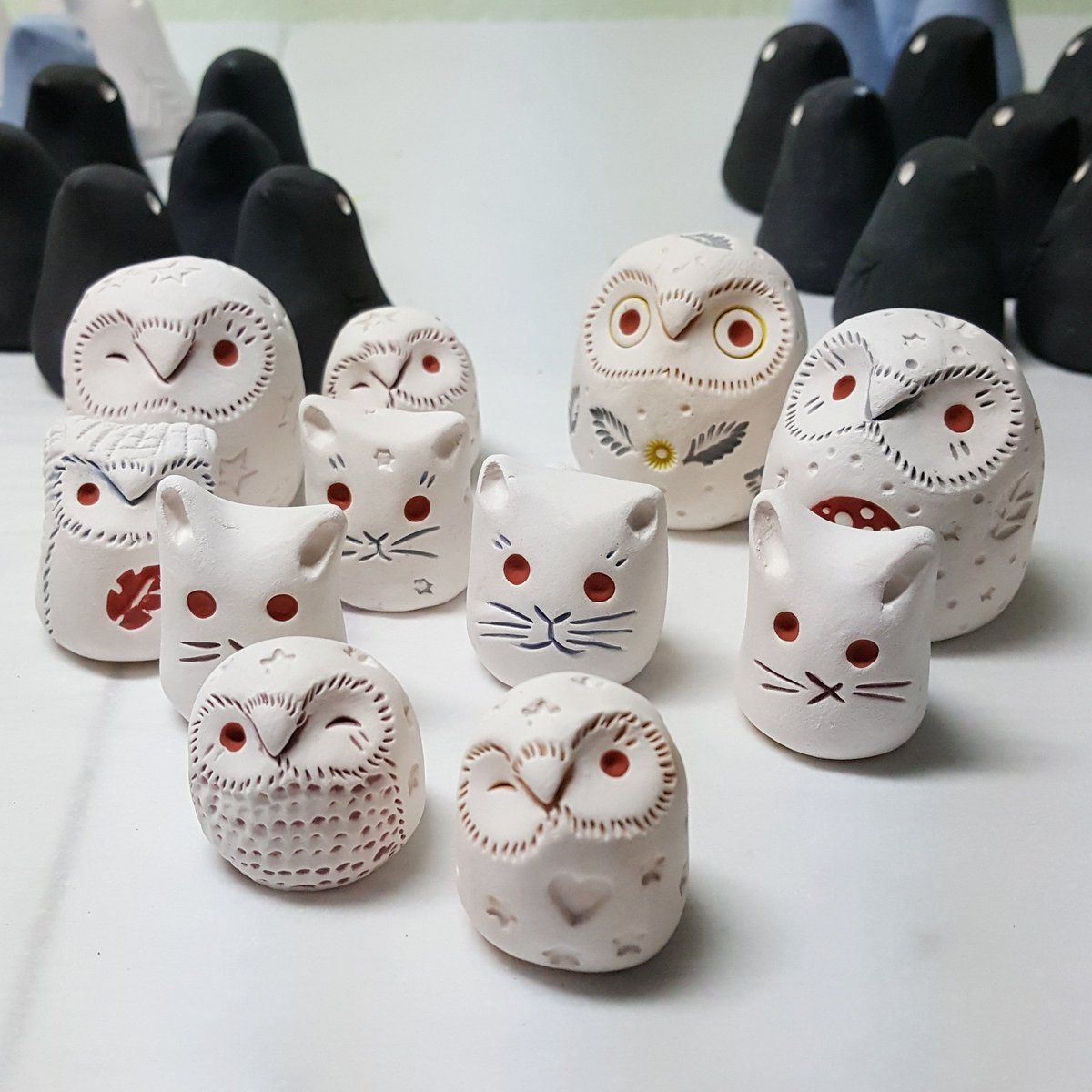 Image Result For Ceramic Clay Owl Clay Owl Clay Crafts Polymer Clay Owl