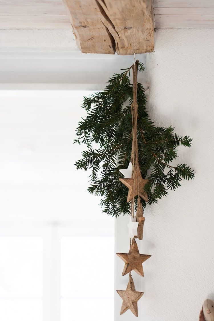 my scandinavian home: 10 Simple DIY Christmas Decorations Made From Nature!Branc... #homedeco