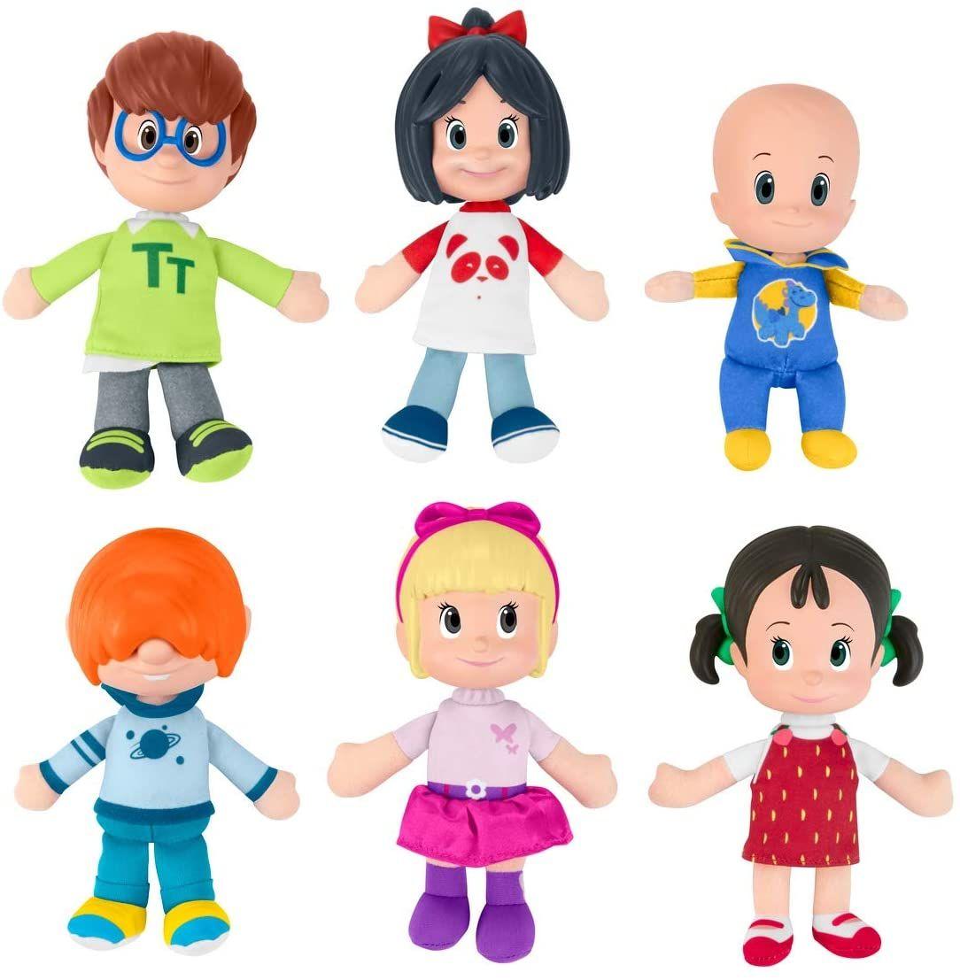 Cleo Cuquin Pack De Hermanos Muñecos De La Familia Telerín Canções Para Crianças Boneca Desenho Bonecas