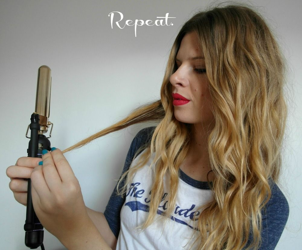 How to do boho curls this makes sense beauty fashion the best beachyboho hair tutorial curling iron plus pulling curl straighter baditri Choice Image