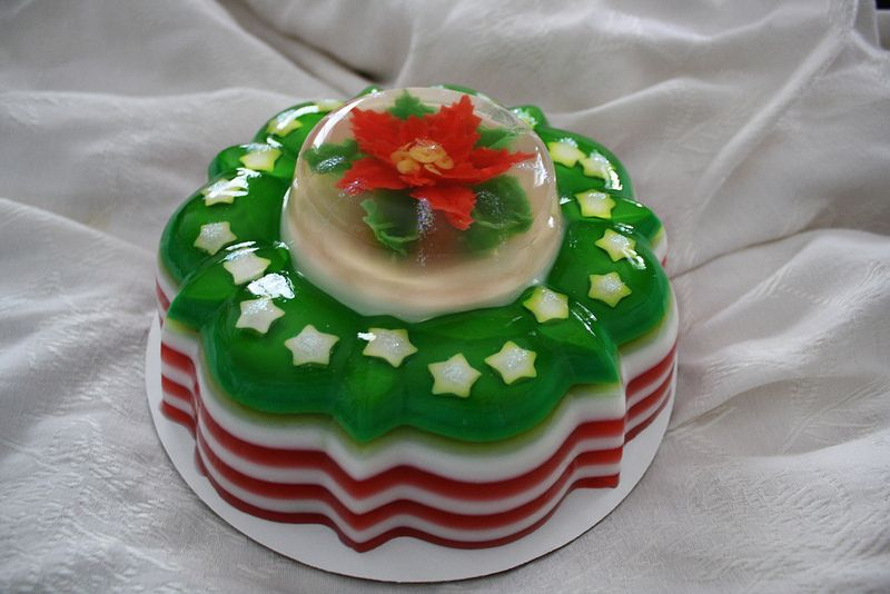 Mexican Jello Cake Recipe: Christmas Gelatin Art In 2019
