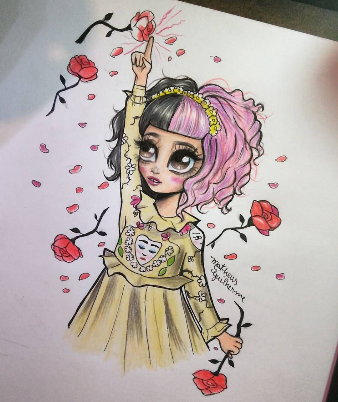 Littlebodybigheart Thank You So Much For 20 1k Muito Obrigado Pelos 20 Melanie Martinez Drawings Melanie Martinez Mad Hatter Melanie Martinez Anime