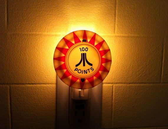 Atari Pinball Night Light by wirenot on Etsy, $15.00