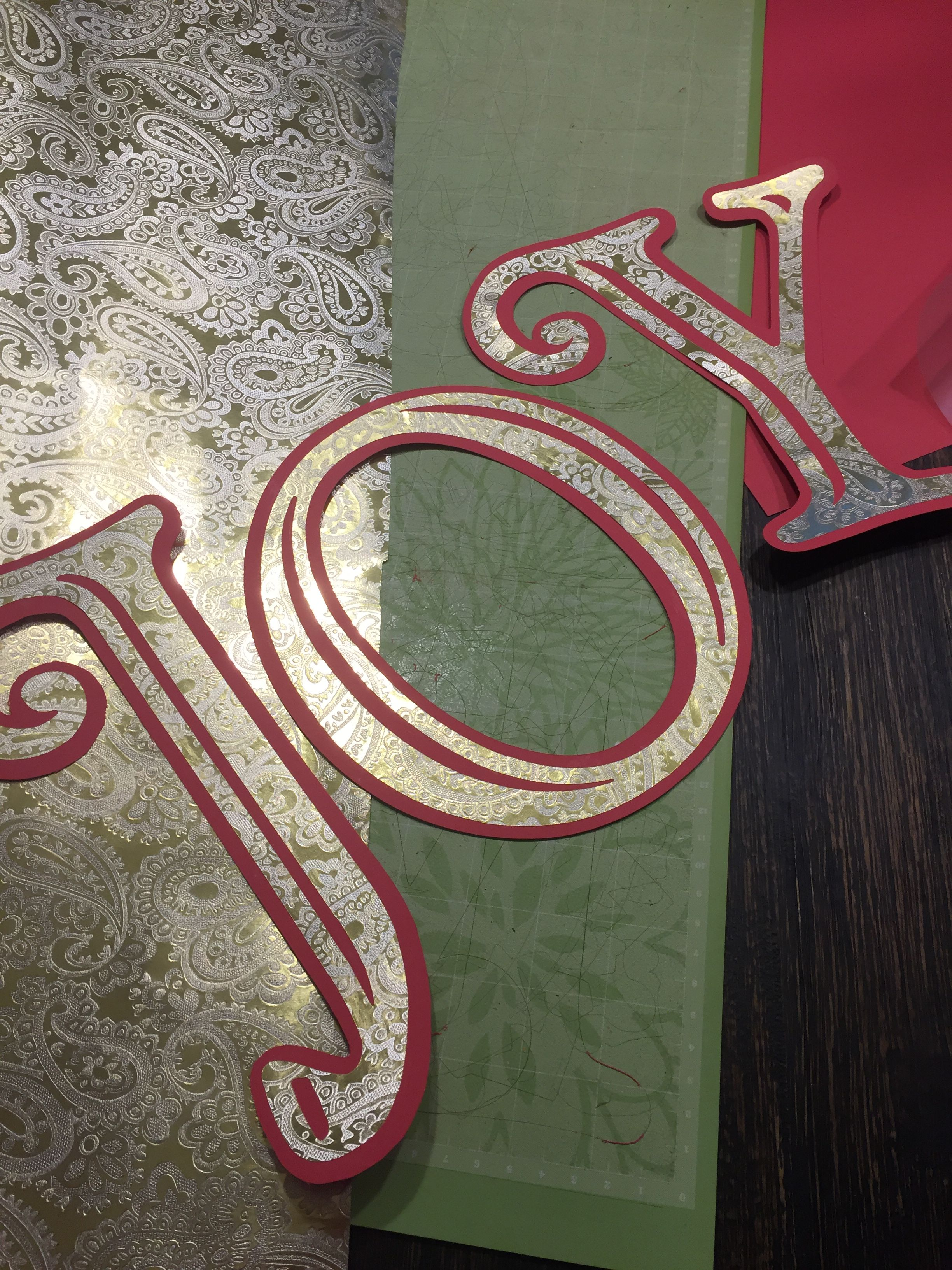 You Can Cut Wrapping Paper With The Cricut Select A