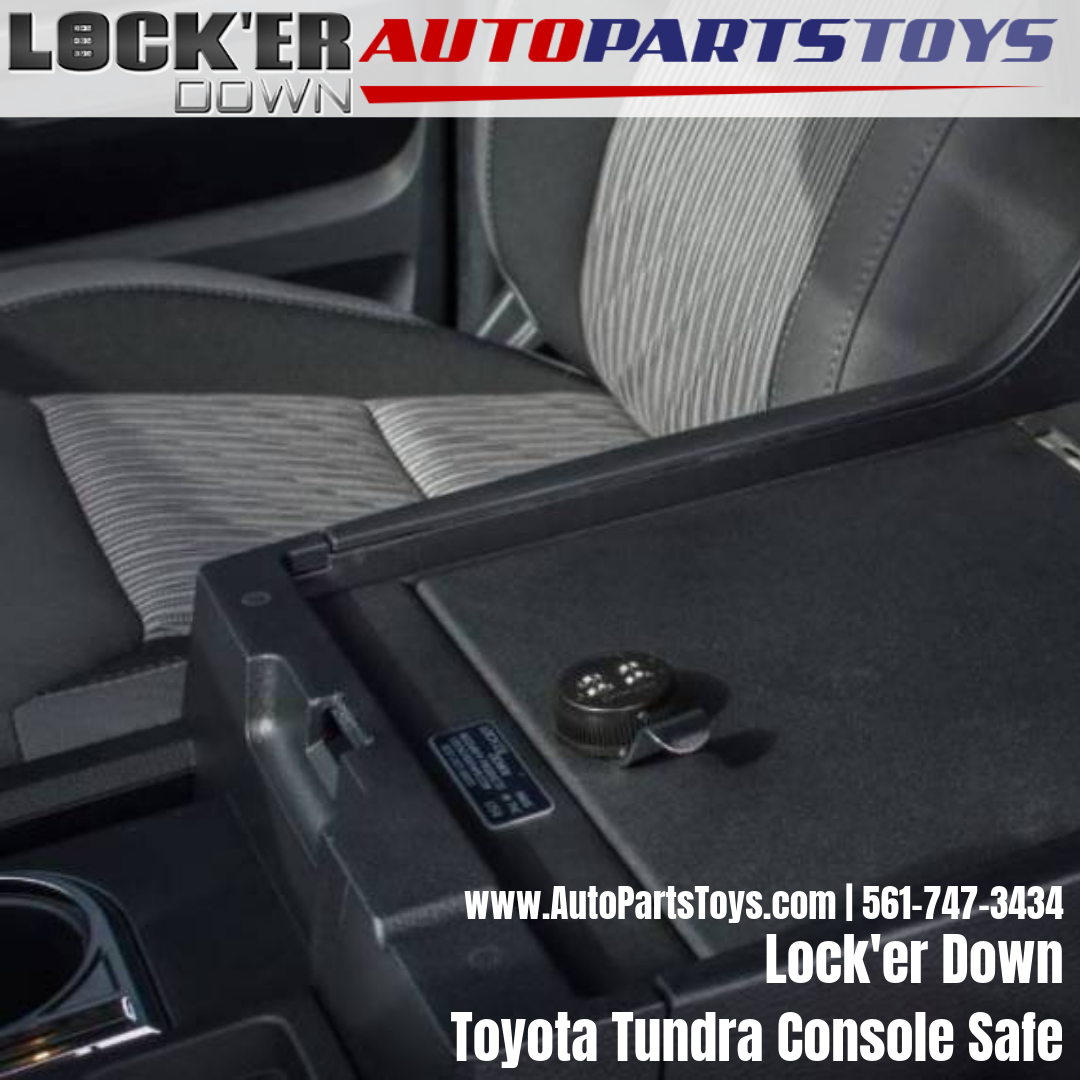 Lock'er down 20142018 Toyota Tundra Console Safe