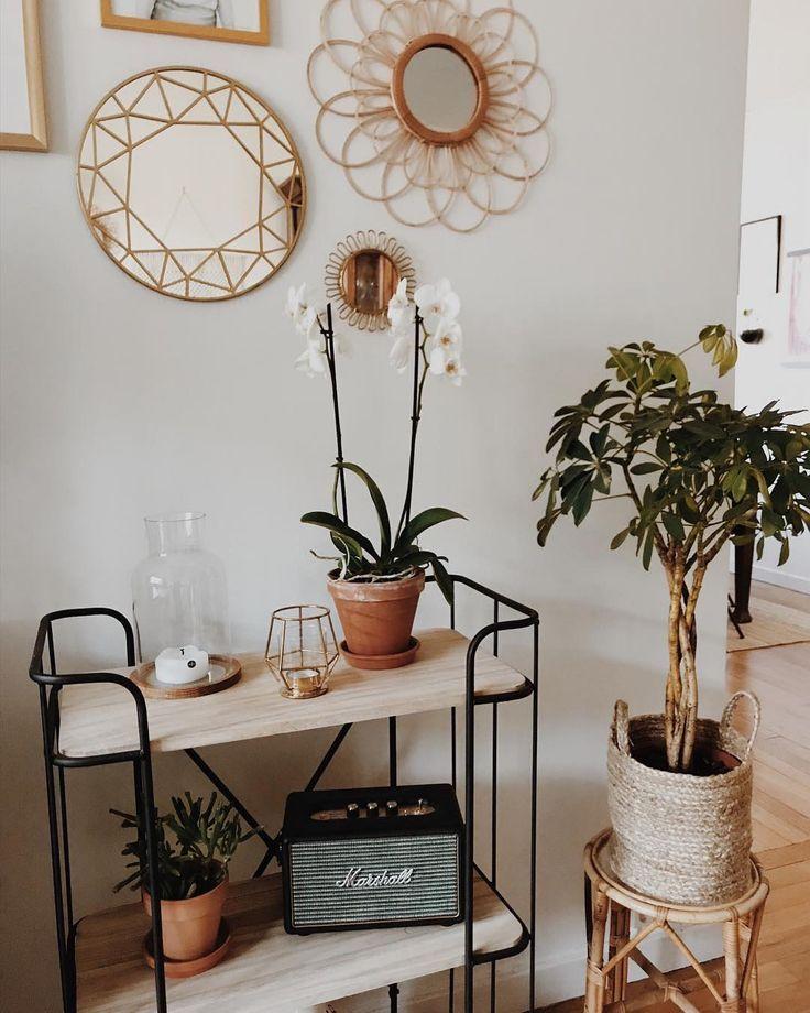 "Luca + Grae on Instagram: ""We love this neutral, cozy corner / Design we can live with ♡ Inspiration via @byelw_"" - #byelw #corner #Cozy #Design #einrichtungsideen #Grae #inspiration #Instagram #live #love #Luca #neutral #cozyapartmentdecor"