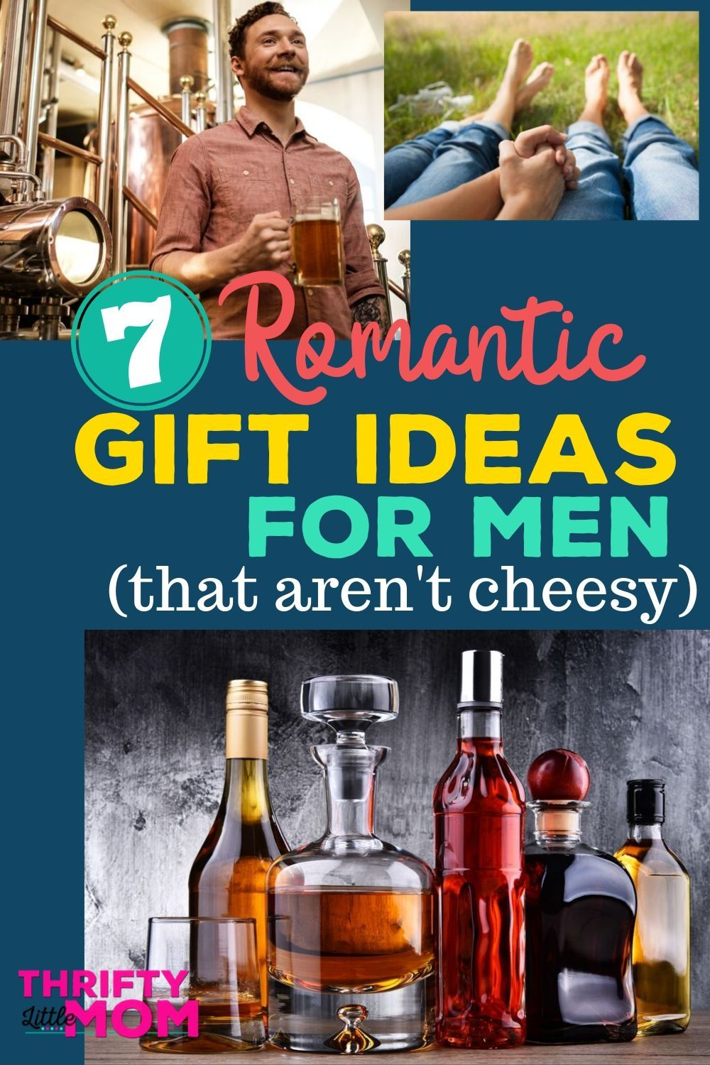 7 romantic gifts for him that arent cheesy romantic