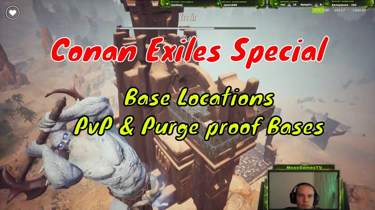 Conan Exiles Special: Base Locations, PvP & Purge Proof
