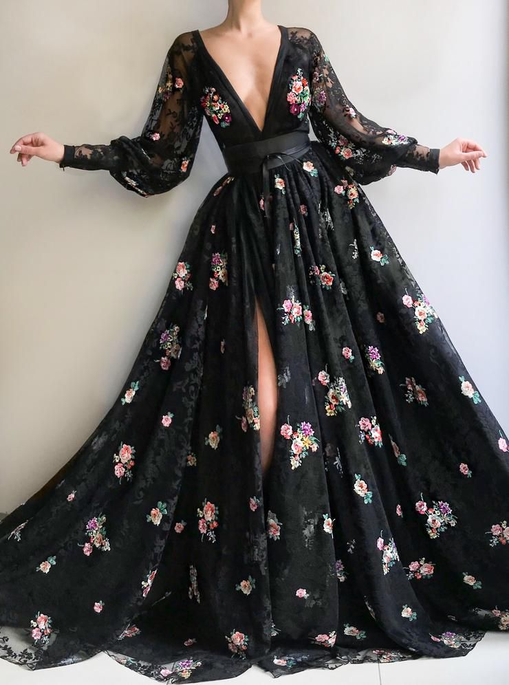 Blooming Eerie TMD Gown