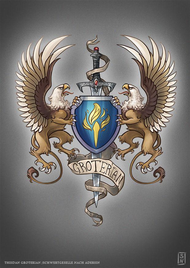 Coat Of Arms Thisdan By Gaiasangel On Deviantart геральдика