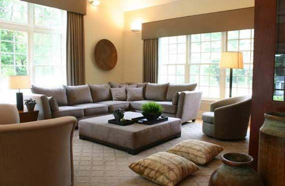gray brown living room. Room 40 Luxury and Elegant Brown Interior Designs  For the Home Grey