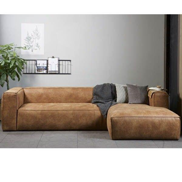 Sof chaise longue piel bean tiendas on muebles de dise o 2018 pinterest sillones - Sofa piel chaise longue ...
