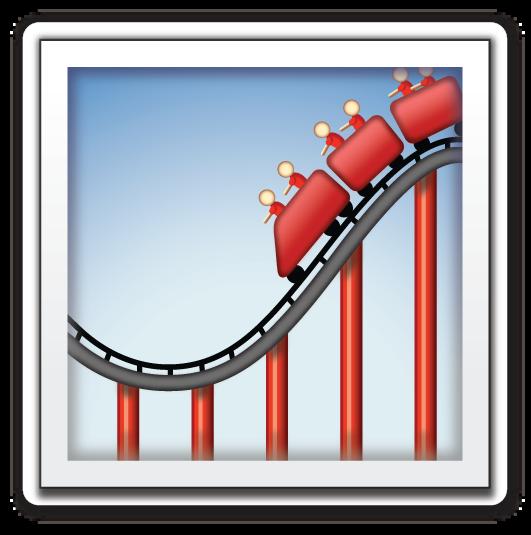 Roller Coaster Roller Coaster Emoji Art Inspiration