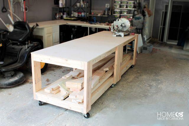 Wondrous How To Build An Easy Super Sturdy Workbench Diy Creativecarmelina Interior Chair Design Creativecarmelinacom