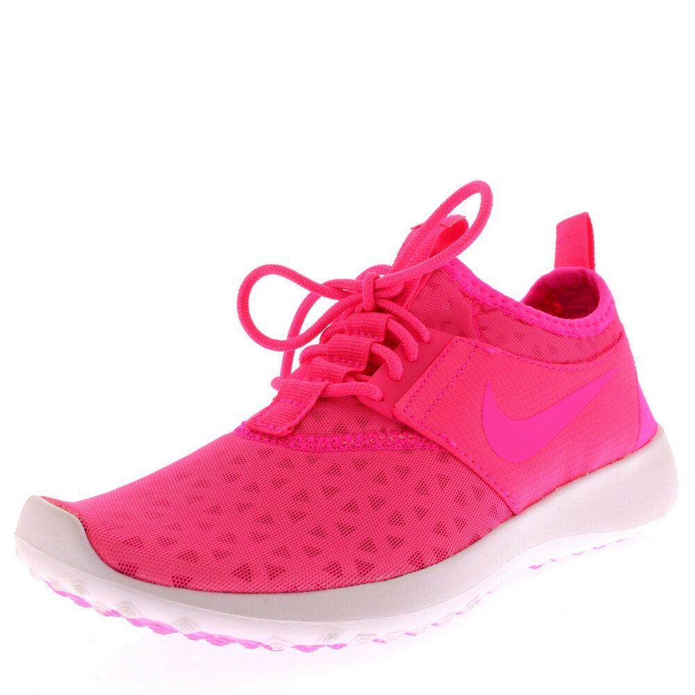 d214e7e024a6 Womens Nike Juvenate Pink Lightweight Walking Fitness Fashion Trainers UK  3-8 - Nike Juvenate