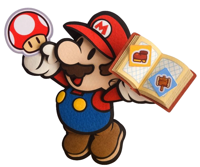 Paper mario sticker star 3ds png 640x535