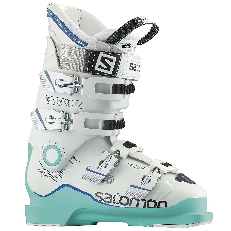 Women's Salomon X Max 90 Ski Boots 2017 22 in White