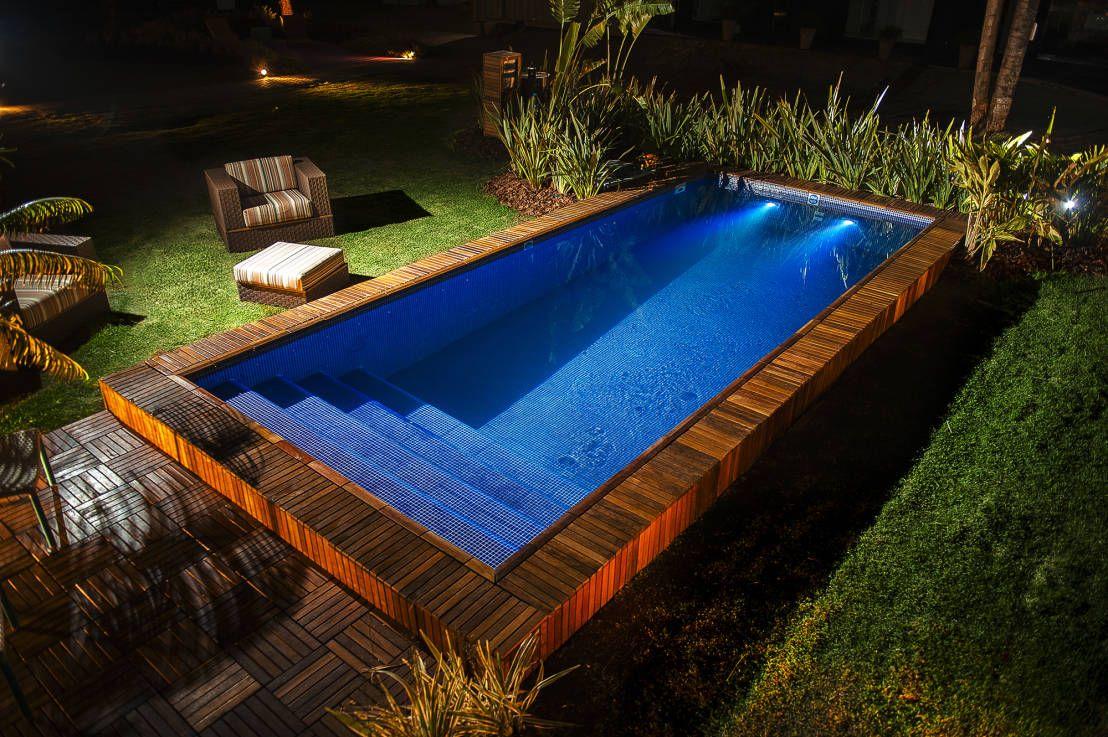 9 piscinas pequenas que cabem direitinho no seu quintal for Piscinas para casas pequenas