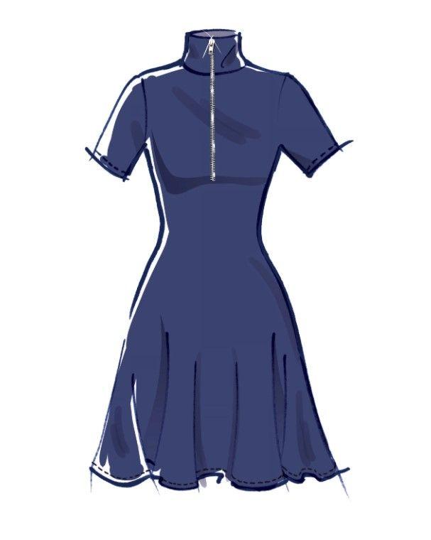 M8138 #BrooklynMcCalls - Misses' Dresses