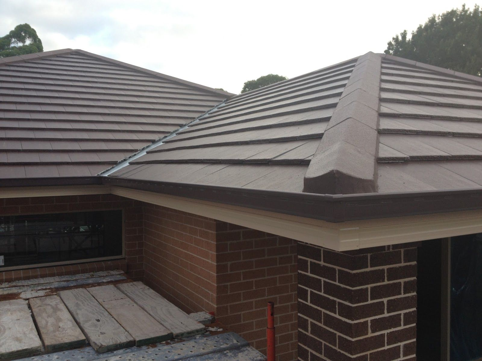 Tile roof flat roof tiles for Flat tile roof