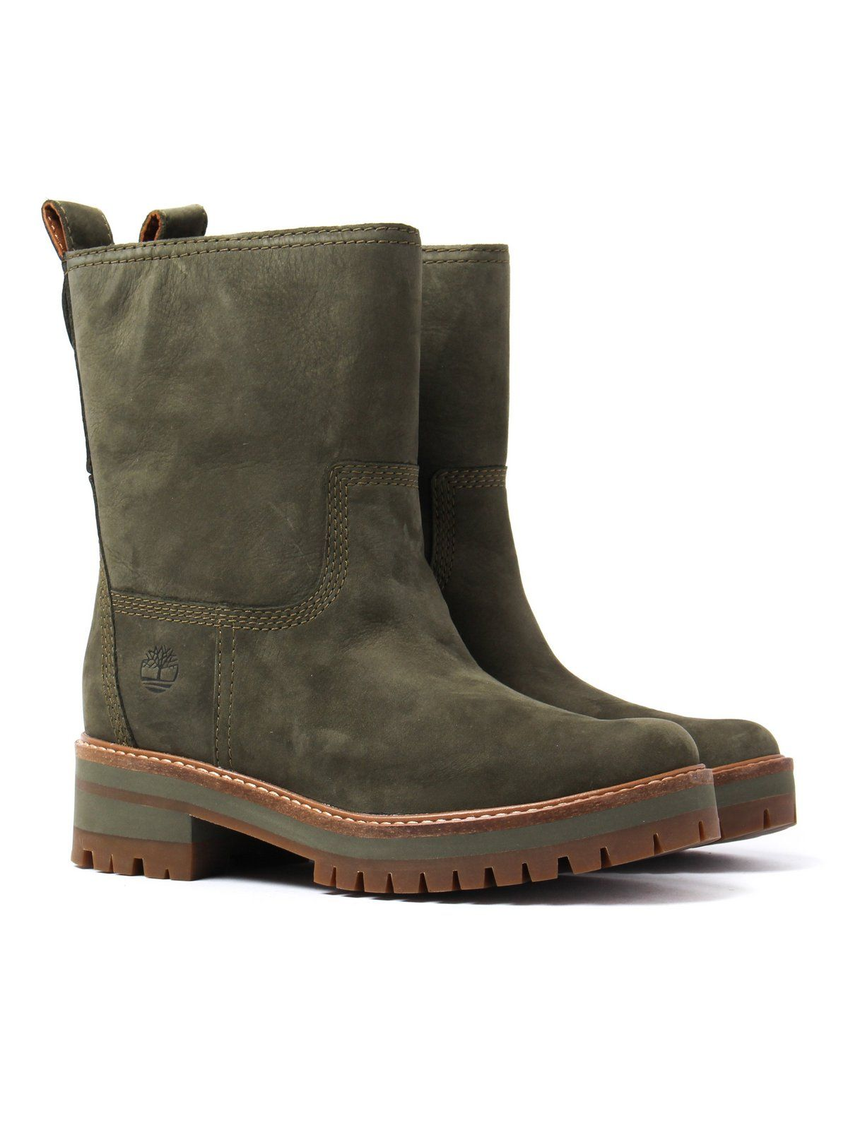 Timberland Women s Courmayeur Valley Mid Boots – Mid Olive   My ... 05ab5ffb10
